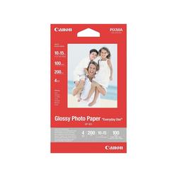 Canon Fotopapier Glossy Photo Paper, Format 10 x 15 cm, 200 g/m²