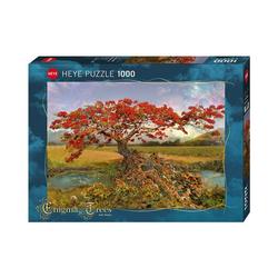 HEYE Puzzle Puzzle Strontium Tree, 1.000 Teile, Puzzleteile