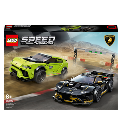 LEGO Speed Champions, Lamborghini Urus ST-X & Lamborghini Huracán Super Trofeo EVO (76899), Fahrzeug