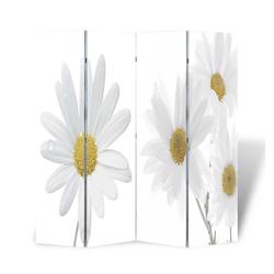 vidaXL Raumteiler vidaXL Raumteiler klappbar 160 x 170 cm Blume