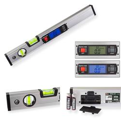 Alu Wasserwaage Messgerät elektronisch digital 40cm + Magnethalter
