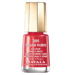 Mavala Nagellack Rouges de Mavala Rouge Rubis 5 ml