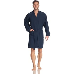 Vossen Unisex-Bademantel Rom winternight XXL