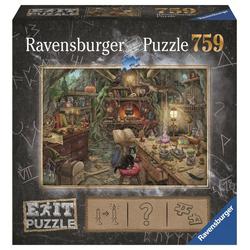 Ravensburger Puzzle 19952 Die Hexenküche 759 Teile Puzzle, Puzzleteile