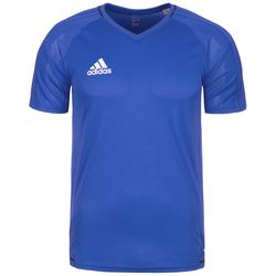 adidas Performance Trainingsshirt Tiro 17 blau Herren Sport Shirts Sportbekleidung T-Shirts
