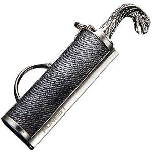 ToDIDAF Streichholz Feuerzeug-Survival Kit - Ewiges Streichholz - Outdoor Streichholz - Feuerzeug Schlüsselanhänger - Survival Streichholz - Streich,mit Zippo Feuerzeug Benzin befüllen