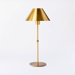 Buffet Stick Metal Table Lamp (Includes LED Light Bulb) Brass - Threshold designed with Studio McGee