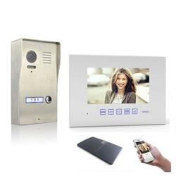 Video Türsprechanlage mit 7 Zoll Monitor Aufputz 1x 7 Zoll Monitor Ja