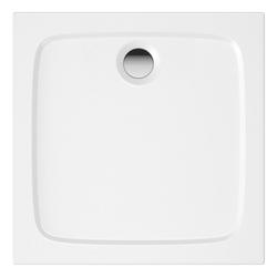 HAK Eckwanne Duschwanne Mineralguss, 90x90x4 cm weiß 90.00 cm x 90.00 cm x 4.00 cm