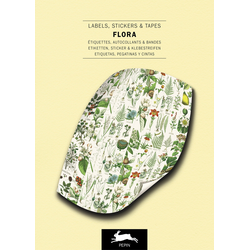 Flora - Label Sticker & Tape Books
