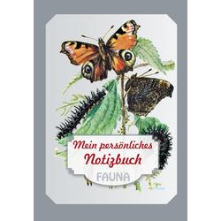 Mein persönliches Notizbuch Fauna als Buch von
