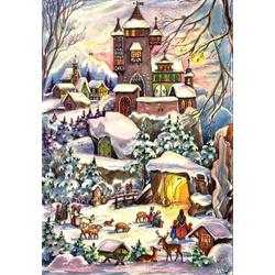 Adventskalender Weihnachten bei der Burg