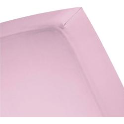Spannbettlaken Basic, Cinderella, für Boxspringbetten rosa 160 cm x 210 cm