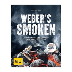 Weber Grillbuch Weber's Smoken Schwarz