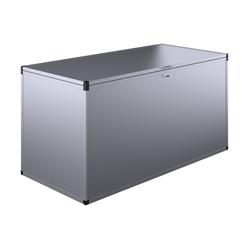 "KGT Gartenbox ""L"",silber,1,52 x 0,76 x 0,80 m (B x L x H)"