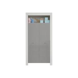 ebuy24 Kleiderschrank Petrol Kleiderschrank Kinderzimmer 2 Türen und 1 A