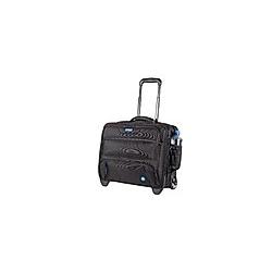 Business Laptop Trolley RPET, 1680D Nylon schwarz