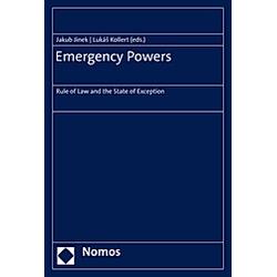 Emergency Powers - Buch