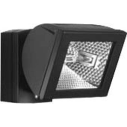 ESYLUX AF S 150sw Außenstrahler Hochvolt-Halogenlampe Schwarz