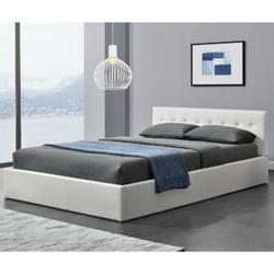 ArtLife Polsterbett Marbella 140 x 200 cm - weiß
