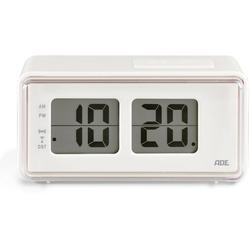 ADE Funkwecker CK 1720 Wecker mit LCD-Display im Retro Klappzahlen-Design
