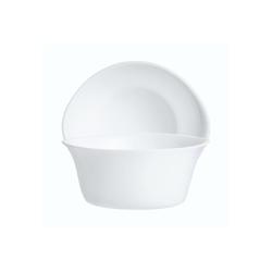 Arcoroc Salatschüssel Gastro Cook, Glas, Schale Stapelschale Schüssel 12.2x11cm 280ml Glas weiß 1 Stück 12.2 cm x 11 cm x 5.2 cm