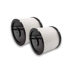 vhbw 2x Rund-Filter passend für Mehrzwecksauger Aldi Workzone Nass- und Trockensauger