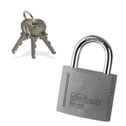 Vorhängeschloss / Bügelschloss / Sicherheitsschloss VS50 mit 3 Schlüssel