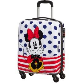 American Tourister Disney Legends 4-Rollen Cabin 55 cm / 36 l minnie blue dots