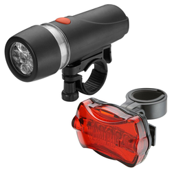 bahama Fahrradbeleuchtung, LED Fahrrad Beleuchtung Set Fahrradlicht Fahrradbeleuchtung Front Rücklicht
