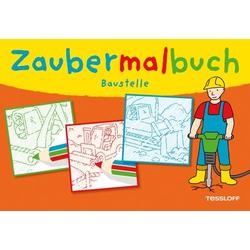 Zaubermalbuch Baustelle