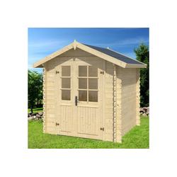 Outdoor Life Products Gartenhaus Morava B, BxT: 221x221 cm beige