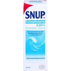 SNUP Schnupfenspray 0,05% Nasenspray 10 ml