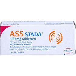 ASS STADA 500 mg Tabletten 10 St.