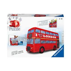 Ravensburger 3D-Puzzle 3D-Puzzle, 216 Teile, London Bus, Puzzleteile