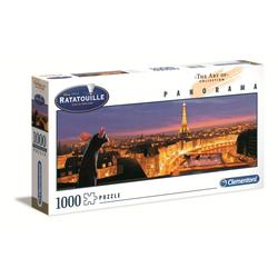 Clementoni® Puzzle 39487 Ratatouille 1000 Teile Panorama Puzzle, 1000 Puzzleteile, Panorama Format