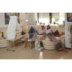 Tobi Babybett Rollensatz für babybay, schwarz