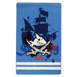 Kinderteppich Capt'n Sharky Schiff blau Gr. 140 x 200