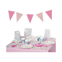 Procos Kindergeschirr-Set Partyset Magic Party, 50-tlg.