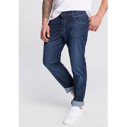 bugatti 5-Pocket-Jeans mit eingelassener Coinpocket blau 33