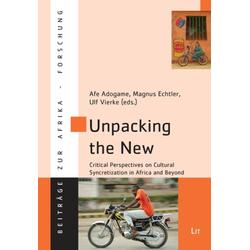 Unpacking the New als Buch von