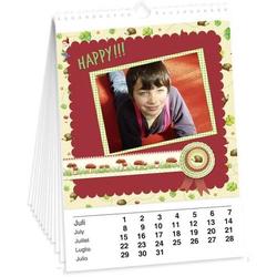 Bastelkalender weiß A5