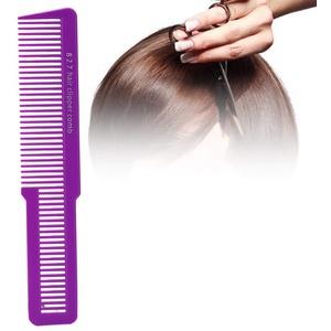 Haarschneider Kamm, Professional Salon Haarschneider Cut Comb Barber Friseur Haarkamm für Haarschneiden(Lila)