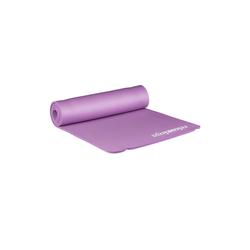 relaxdays Yogamatte Yogamatte 1 cm dick einfarbig lila