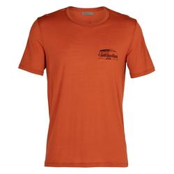 Icebreaker T-Shirt rot M