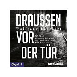 Wolfgang Borchert - Draussen Vor Der Tür (CD)