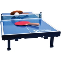 MTS Sportartikel Donic-Schildkröt Tischtennis-Mini-Tisch, Mini-Tischtennistischplatte, Set mit 2 Schläger, 1 Ball