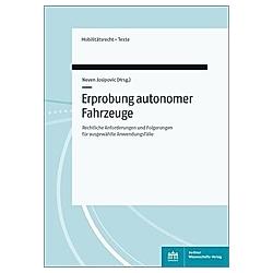 Erprobung autonomer Fahrzeuge - Buch