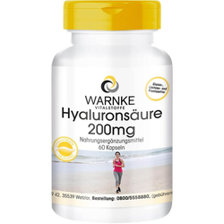 HYALURONSÄURE 200 mg Kapseln 60 St.