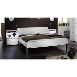 Dekorweißes Bett Huddersfield - 180x200 cm - weiß